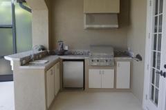 Palm Beach outdoor kitchen