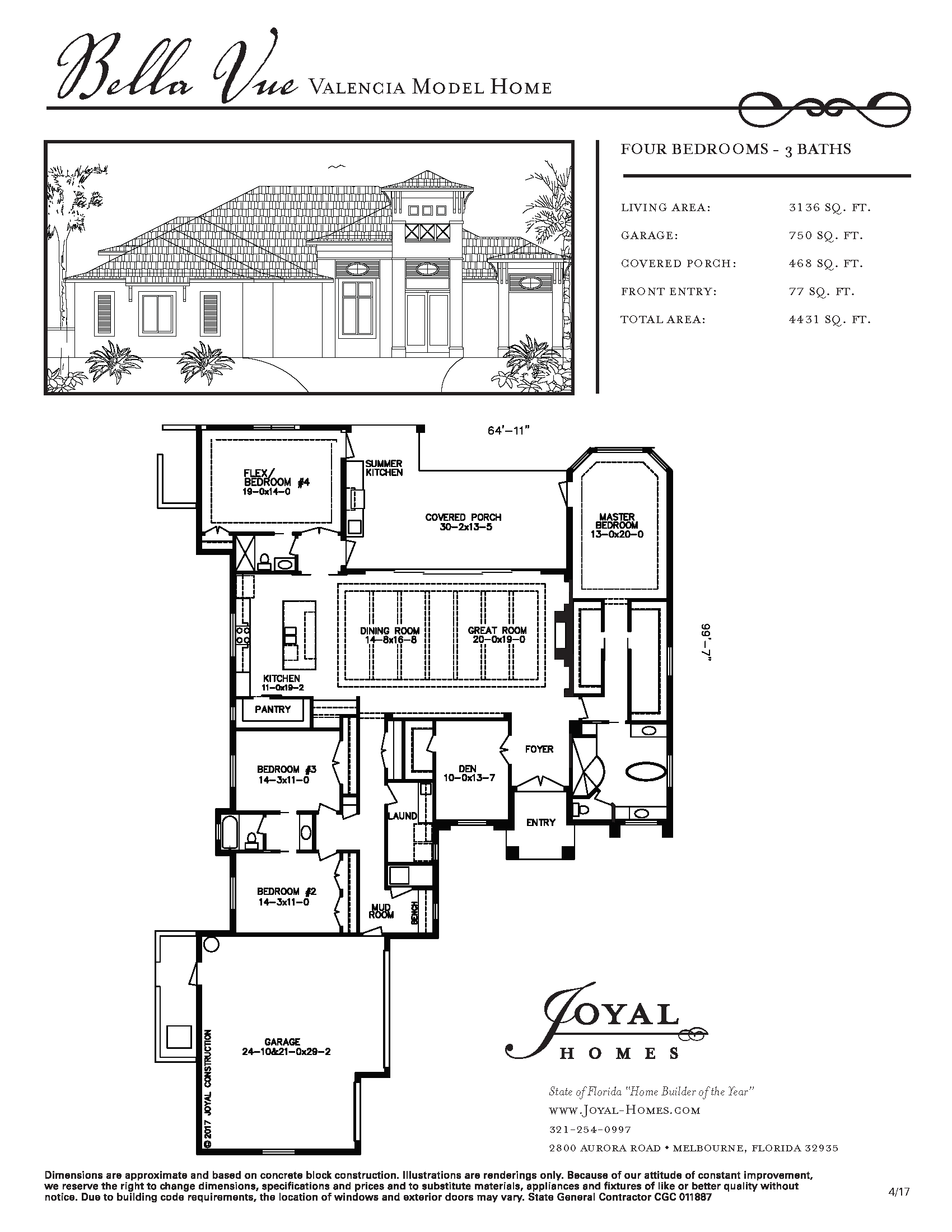Bella Vue Model Home | Joyal Construction